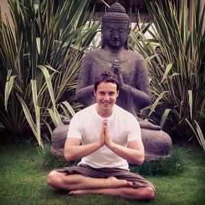 sandy newbigging meditating at lifeco