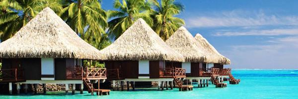 bali huts banner