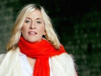 Lucinda Drayton in Red Scarf