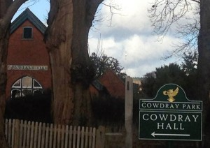 cowdray hall sign