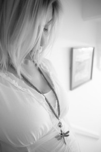 Lucinda with Dragonfly Necklace